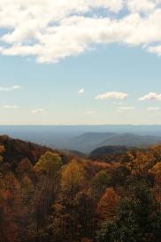 The Blue Ridge in fall