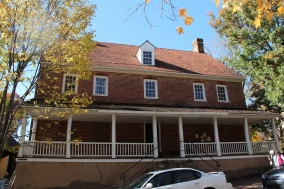 The Salem Tavern Museum.
