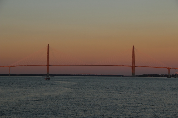 . . . the Ravenel bridge . . .